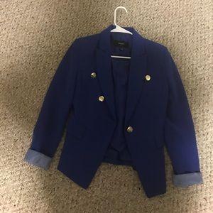 Mango blue blazer